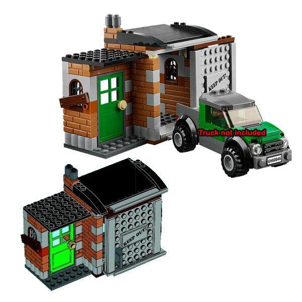 Limited Edition CROOK HIDEOUT Building Blocks