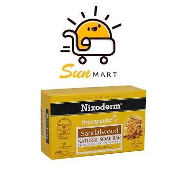 NIXODERM THERAPEUTIC SANDALWOOD SOAP BAR (100G)