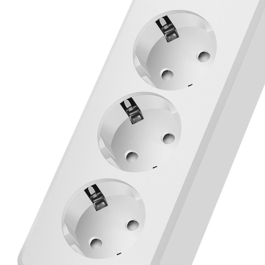 Chargers - DIGOO 3 Outlets Smart Power Strip Socket 4 USB Ports Support Alexa - Cables