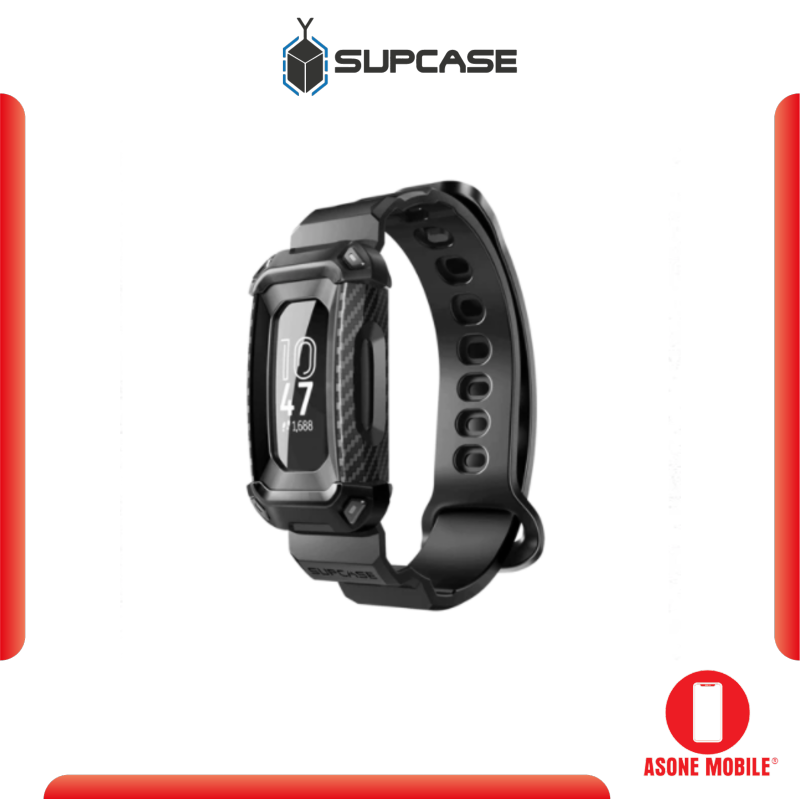 Original SUPCASE Fitbit Inspire 2 / Inspire Unicorn Beetle Pro Wristband Case-Black