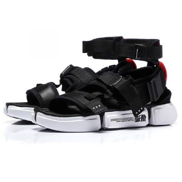 Li-Ning PFW Essence 2.0 Platform Men's Sports Sandals - Black AGBN079-2