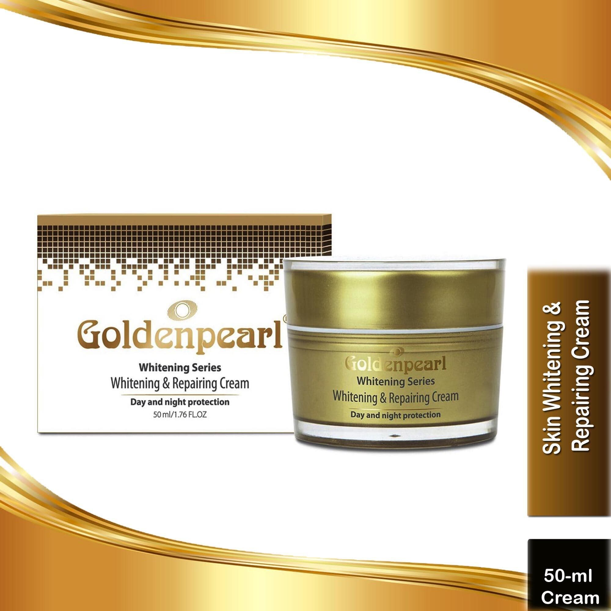 Golden Pearl Whitening Series Whitening & Repairing Cream Day & Night Protection (Premium Quality) Special Price