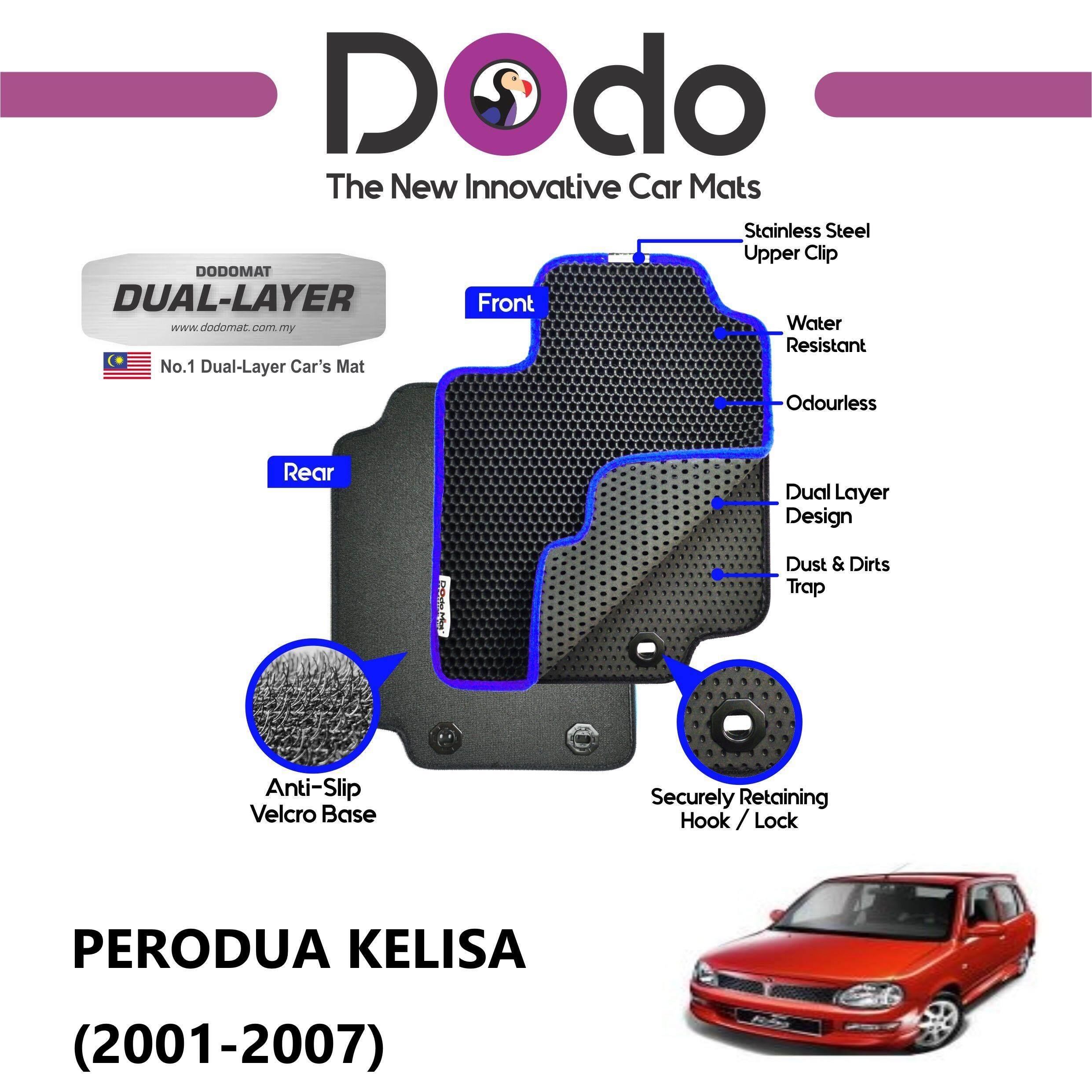 DODOMAT Car Mat PERODUA KELISA (2001-2007) Model BASIC