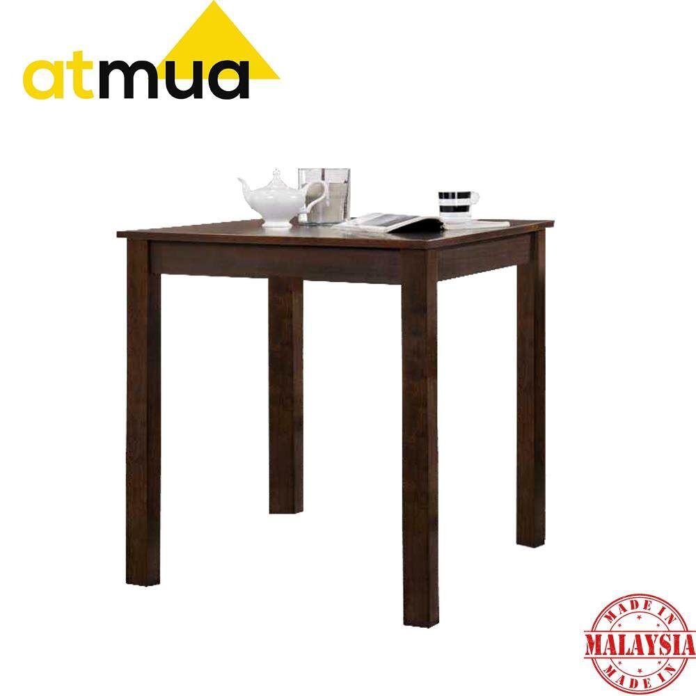 [ Table ONLY ] Atmua Spearo Counter Table Dining Table Bar Table High Table ( Solid Wood ) Meja Tinggi 36 inch Meja Solid Kayu Getah