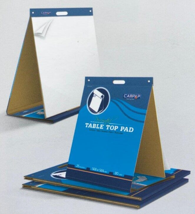 CAMPAP CA3455 80gms 25's 510x610mm PERFORATED TABLE TOP PAD x 2pads