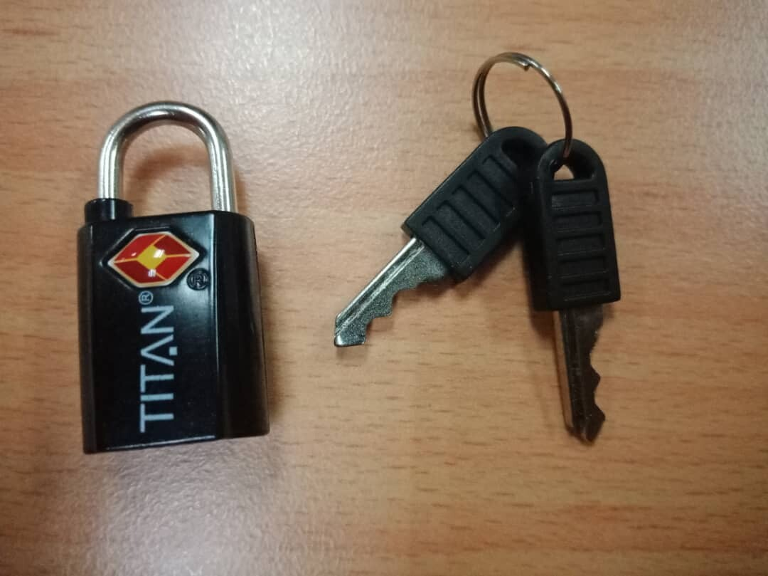 Titan TSA Approved Luggage Travel Lock