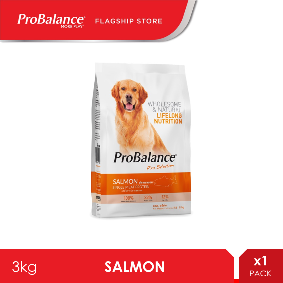 ProBalance 3KG Salmon Adult Dry Dog Food [makanan anjing]