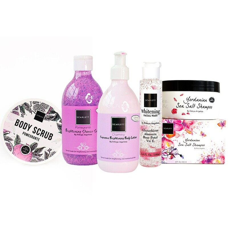 Scarlett Whitening Save Package 5 Items