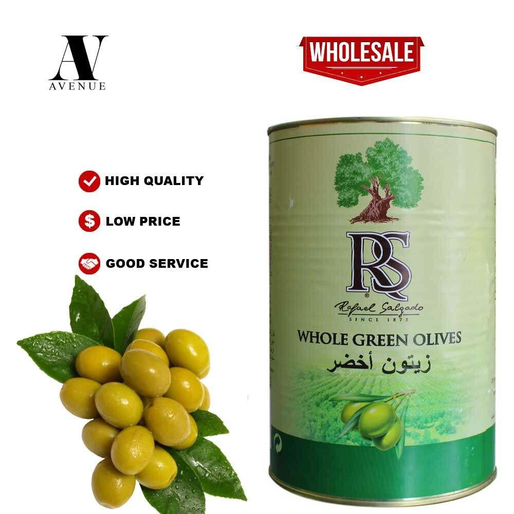 Rafael Selgado Whole Green Olives 2.5 kg - Spain  Zaitun