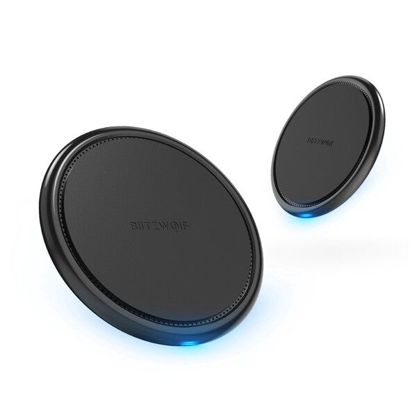 Chargers - BlitzWolf BW-FWC5 10W 7.5W 5W Fast WIRELESS Charger Charging Pad - Cables
