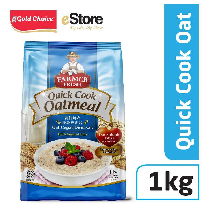 FARMER FRESH Oatmeal Quick Cook - 1kg X 1 [Oat]