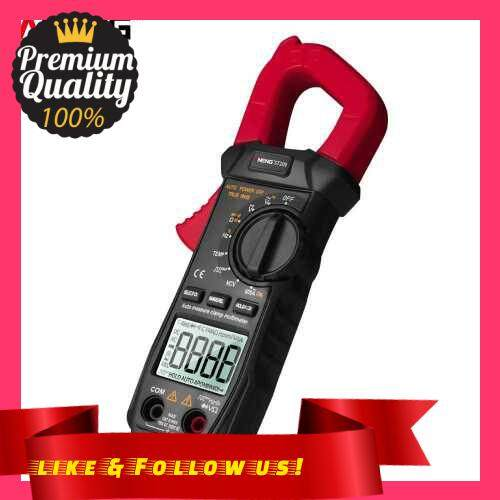 People\'s Choice ANENG ST209 Digital Multimeter Clamp Meter 6000 Counts True RMS Amp DC/AC Current Clamp Tester Meters Voltmeter Auto Ranging LCD Display (Red)