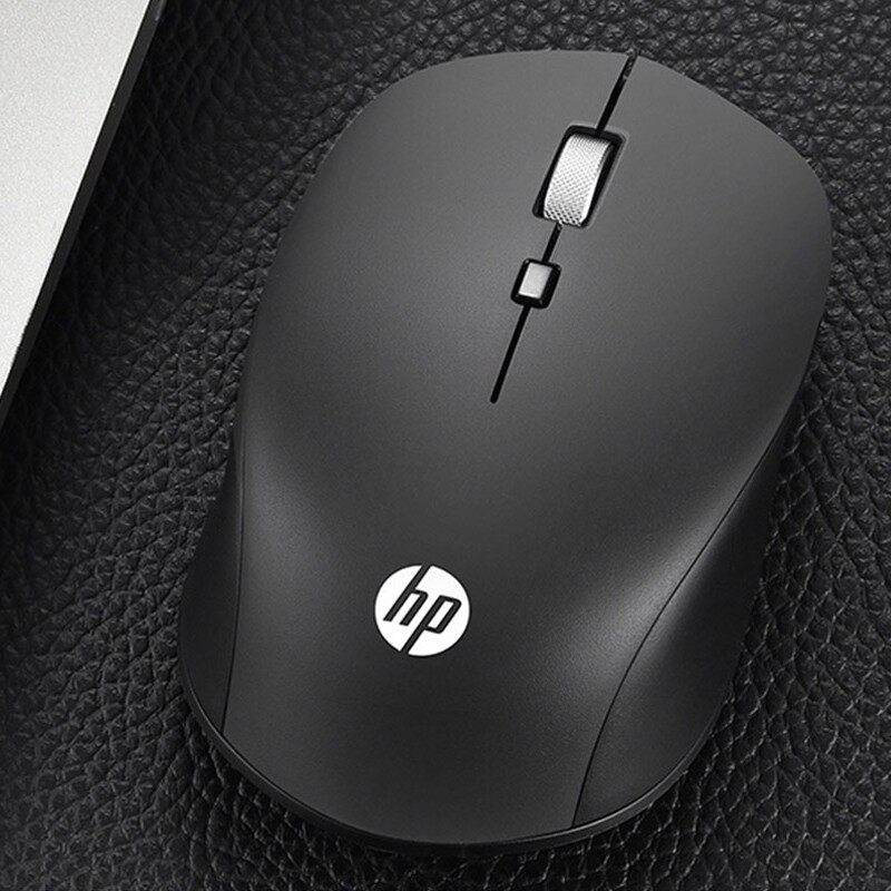 HP WIRELESS Mouse Computer BLUETOOTH Mouse Mute Mouse 1600DPI USB Receiver Computer Mouse - WIRELESS MOUSE / RAZER MOUSE PAD