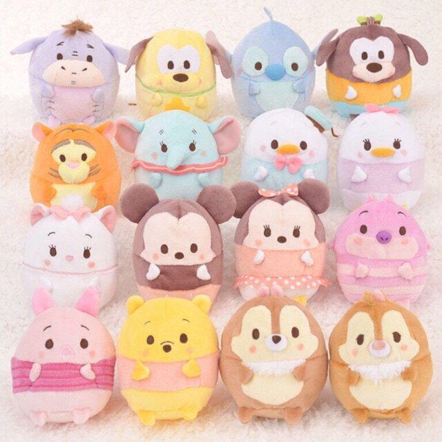 *Ready Stock* Super Cute Ufufy   Tsum Tsum Plush   Doll   Toy Keychain 10-12cm