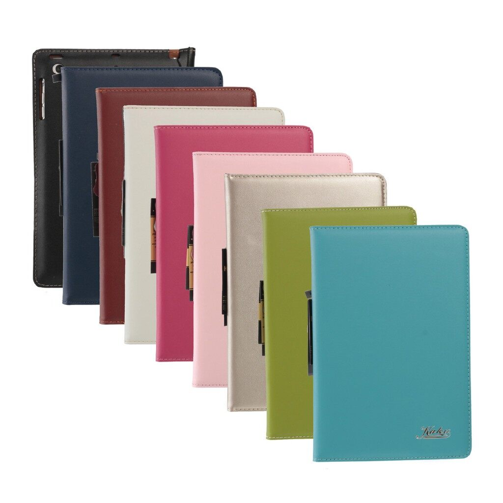 iPh Soft Cover - PU Leather ULTRA Thin Slim Smart Stand Case Cover For Apple iPad MINI 1/2/3 - PINK / BROWN / ROSE RED / ORCHID / WHITE / DEEP BLUE / BLACK / Apple GREEN / GOLD