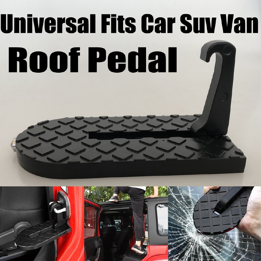 Pedals - Access Roof DoorStep Pedal Step To Easily Rooftop Doorstep Car SUV Support 200KG - Car Accessories