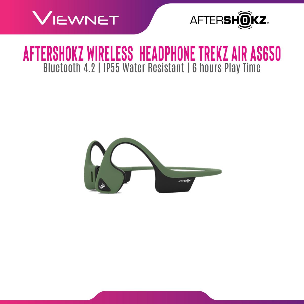AfterShokz Trekz Air Slate Grey/Forest Green/Midnight Blue/Canyon Red Wireless Headphone
