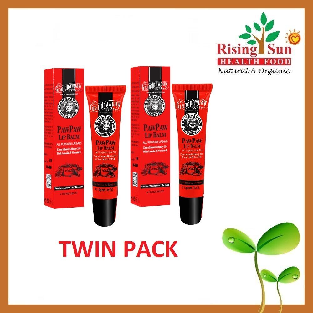 Grandpawpaw All Purpose Lip Balm Manuka Honey 20+ 10G - Twin Pack