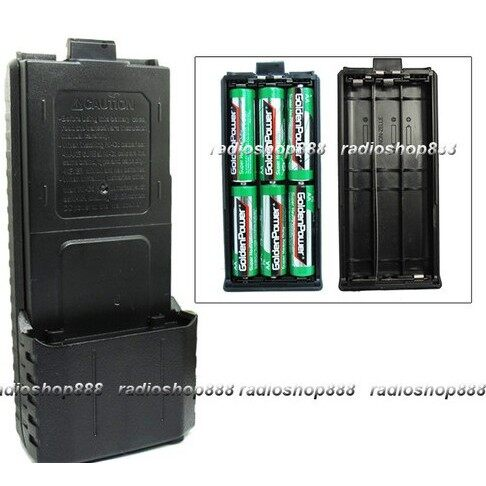 DIY Tools - 1 PC Extended 6X AA Battery Case Pack Shell for UV5R UV5RB UV5RE UV5RE+ - Home Improvement