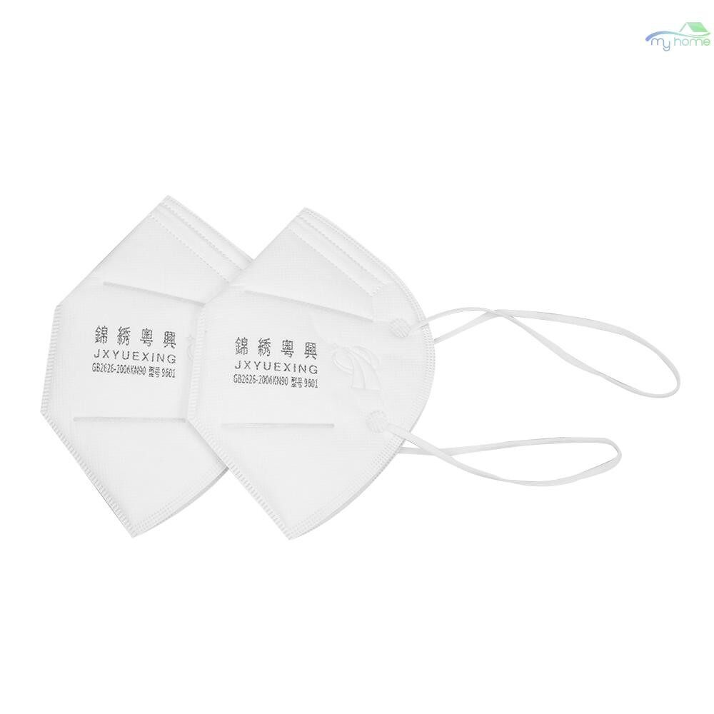 Protective Clothing & Equipment - 10 PIECE(s) Respiratory Dust Mask Anti Fog Haze PM2.5 Mask Labor Protective Anti Dust Face Nose - BLUE / WHITE