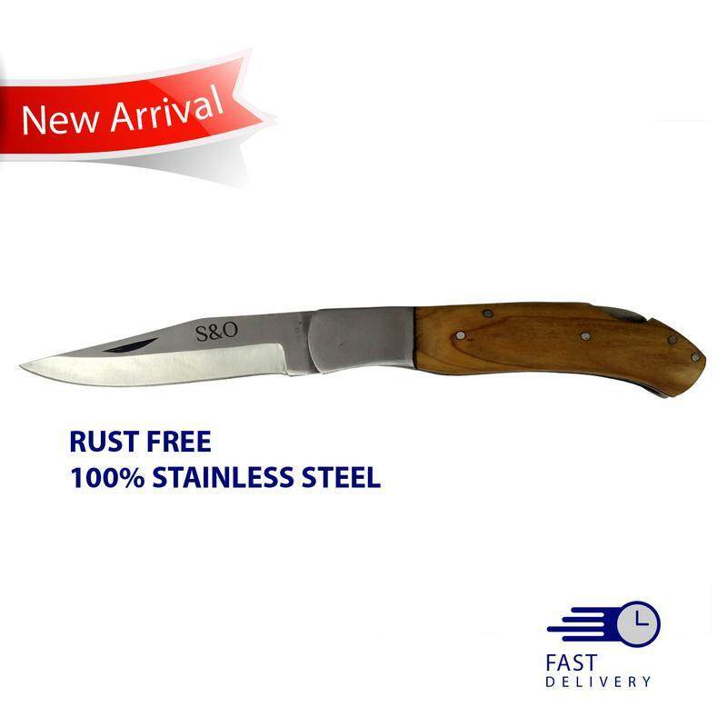 High Quality Folding Knife 100% Stainless Steel Fresh Import