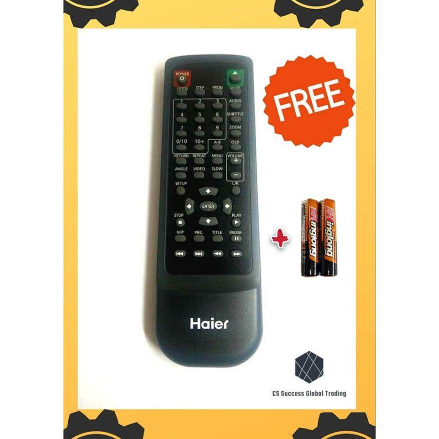 Original Haier DVD Player Remote Controller for HDV-337 & HDV-202HDMI