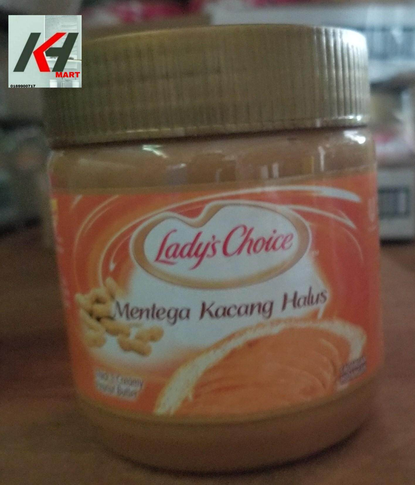 LADY'S CHOICE PEANUT BUTTER (KACANG HALUS) - 500G  READY STOCK