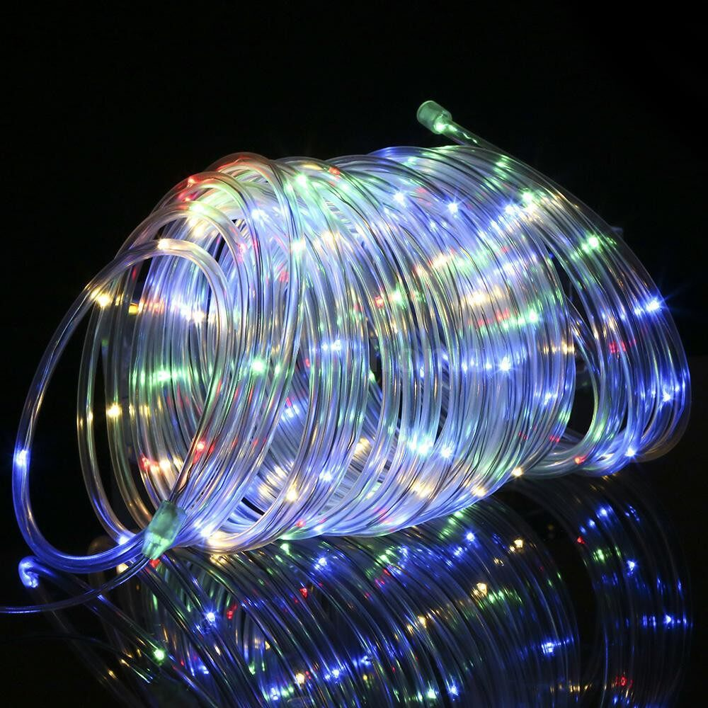 Lighting - 12M/39.4Ft 7.2W 120 LED Rope Light Multi-color Battery Powered Operated with Remote Control - MULTICOLOR / WARM WHITE / WHITE