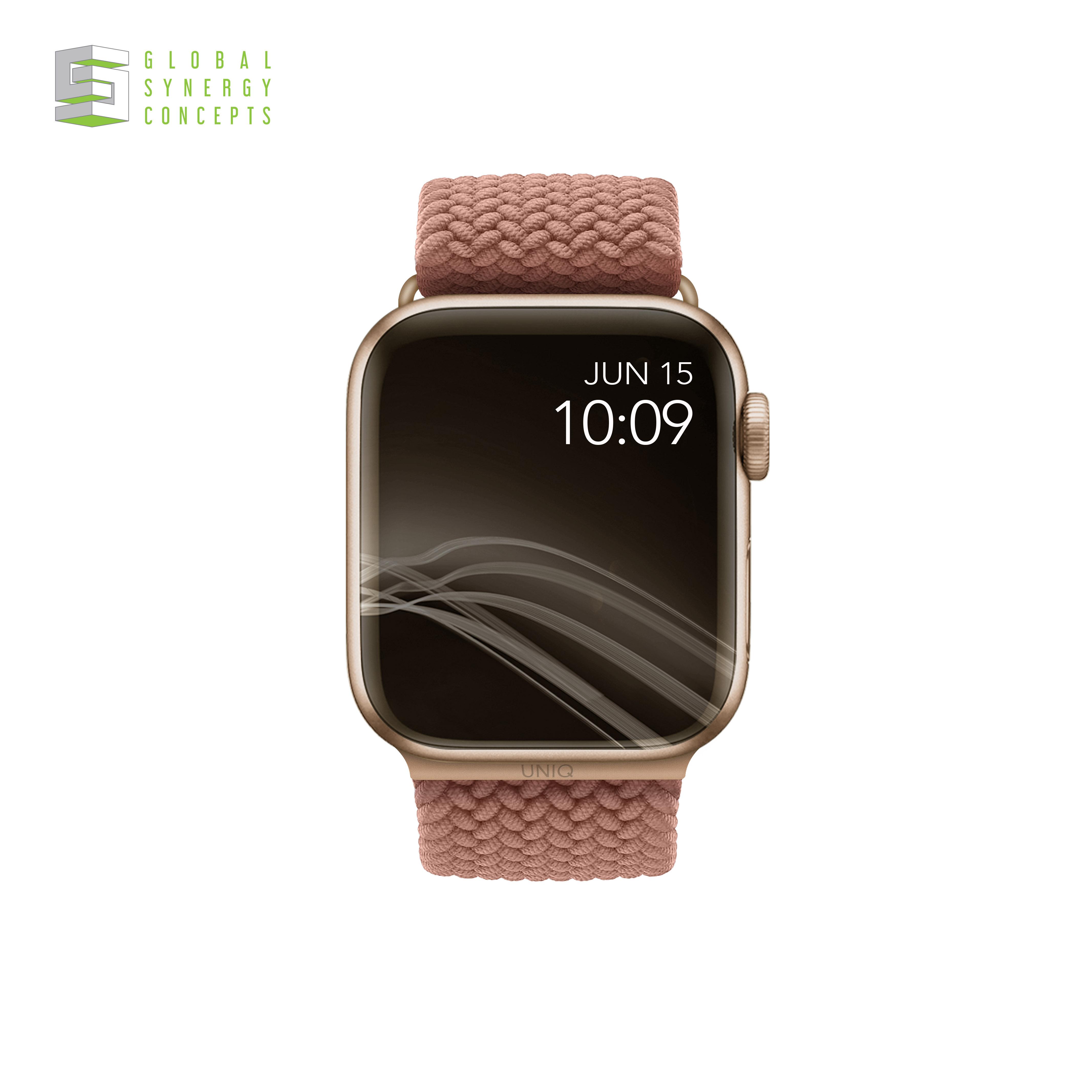 Uniq Aspen Apple Watch Strap 38mm/40mm/42mm/44mm Series 1/2/3/4/5/6/SE Blue / Grey / Green / Pink