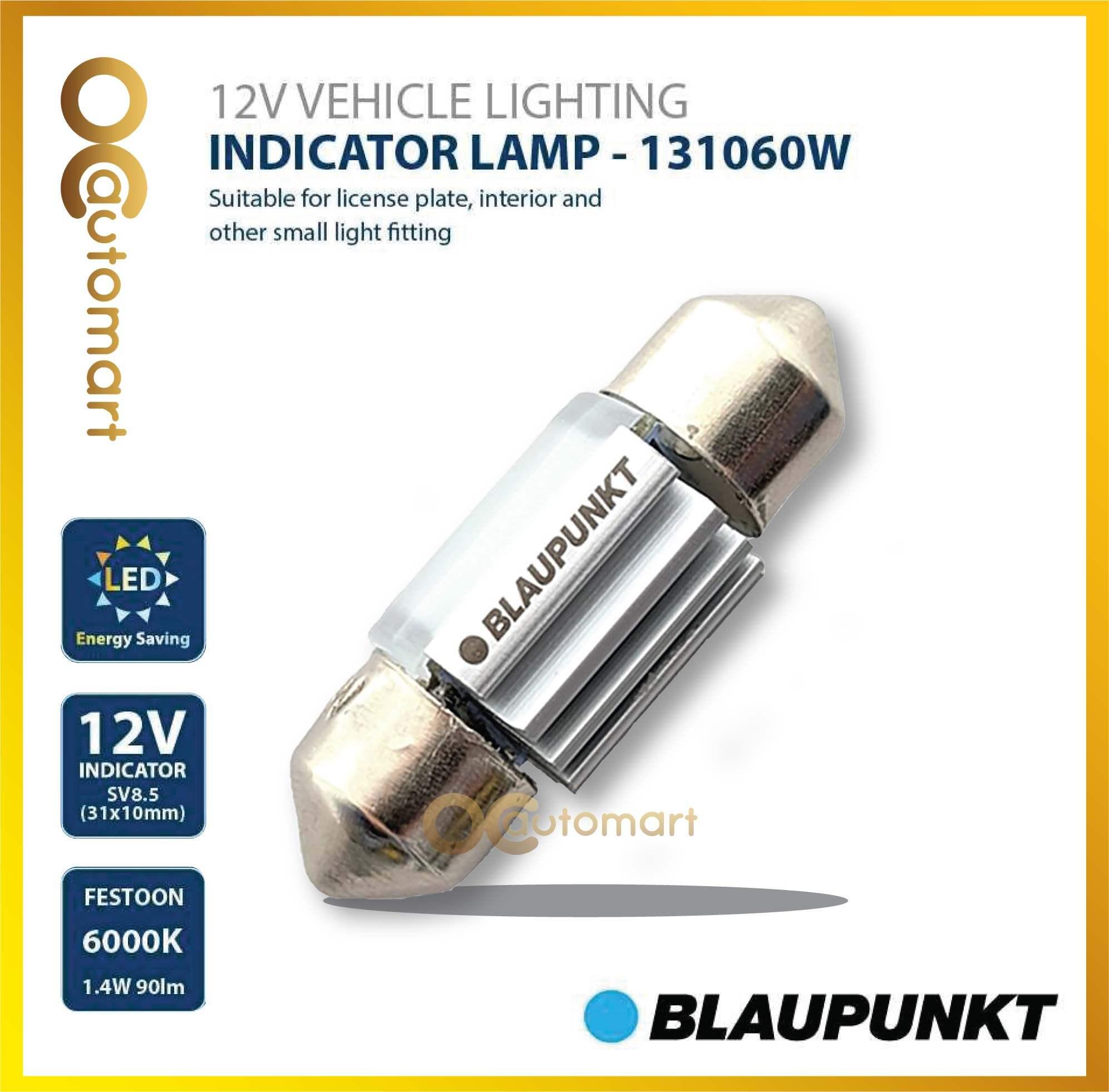INDICATOR LAMP 131060W 12V VEHICLE LIGHTING FESTOON 6000K BULB INDOOR LAMP