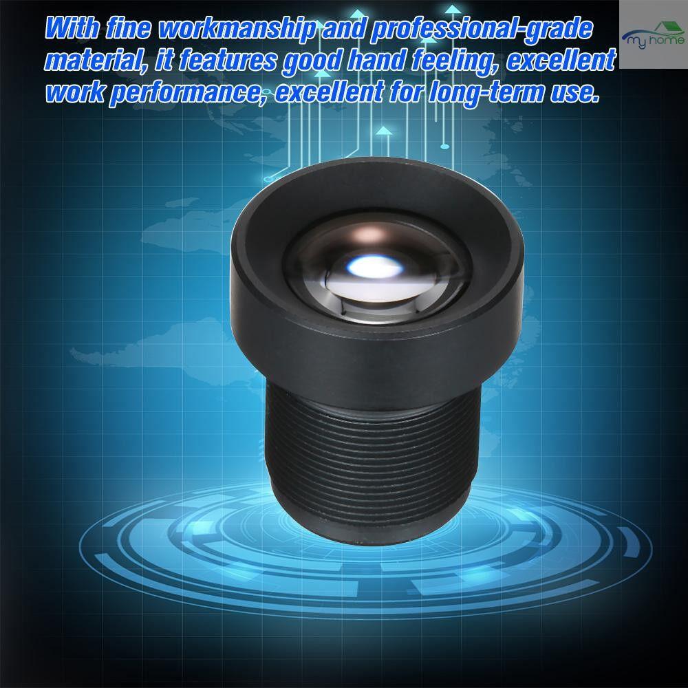 CCTV Security Cameras - 1/3 25mm Lens CCTV Lens M12 Mount Lens Wide Viewing Angle 12 Degree 2.0 Megapixel Suitable for - BLACK