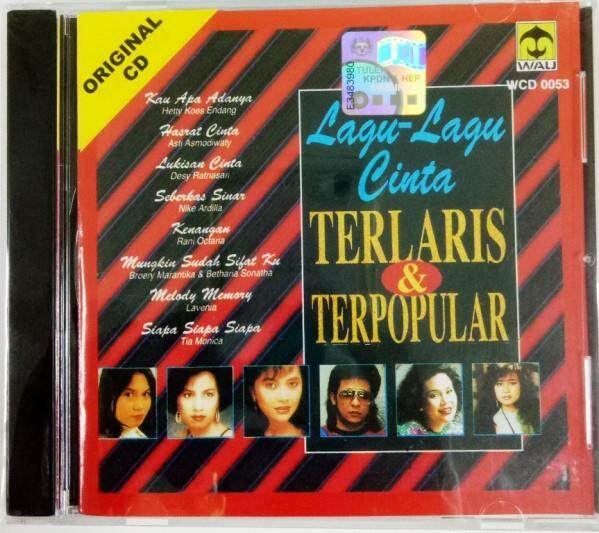 Lagu-Lagu Cinta Terlaris & Terpopular CD Hetty Koes Endang Broery Marantika Betharia Sonatha Nike Ardilla