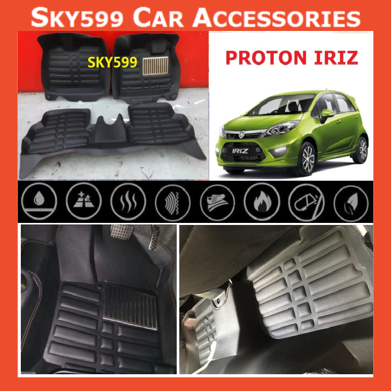 Proton  IRIZ 5D Car Floor Mat/Carpet