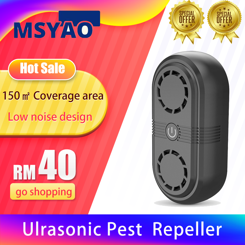 Pest Repeller Controller Mouse Electronic Ultrasonic Electric Insect Killers Insect Rats Repellent Ultrasonic Repellent 灭蚊神器