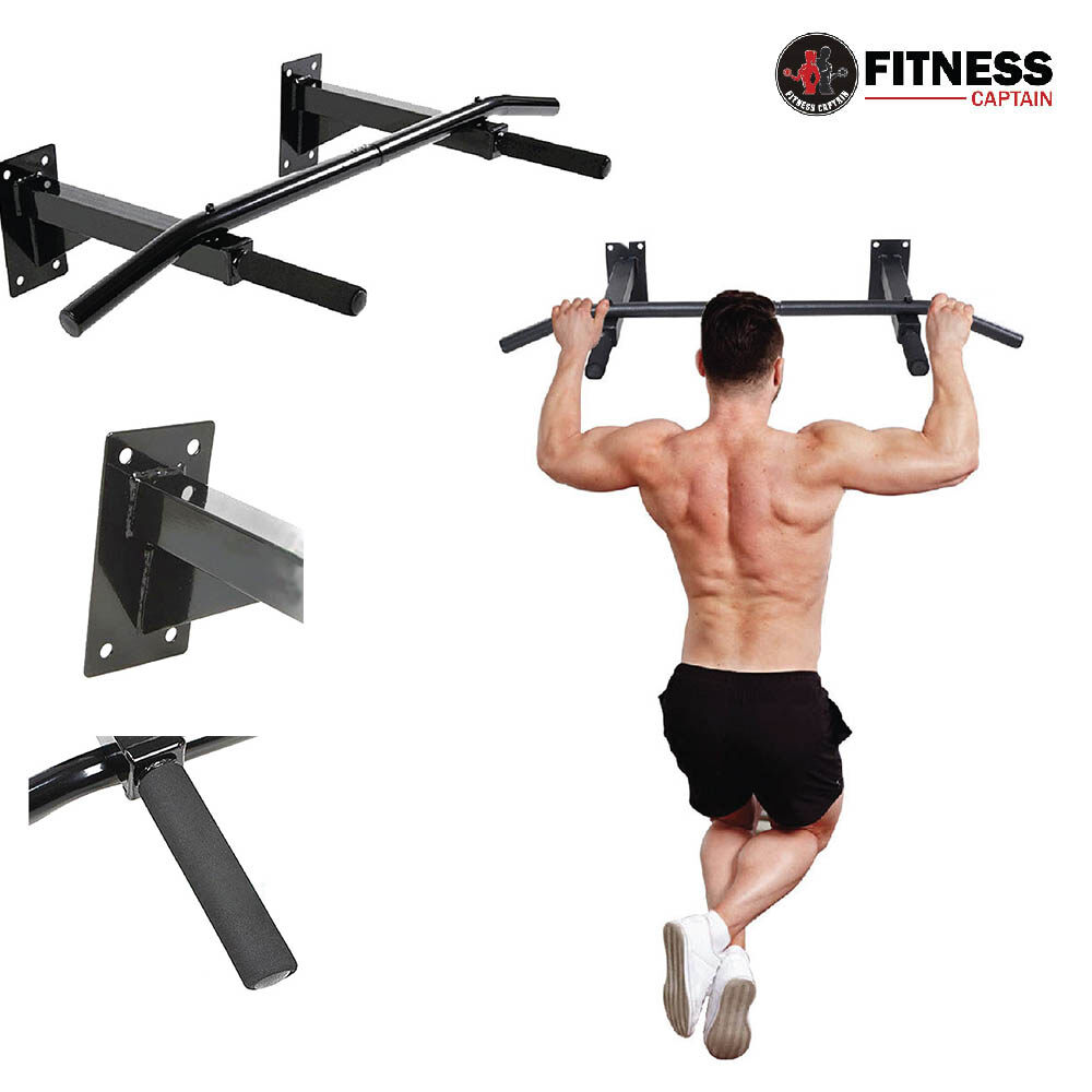 Fitness Captain Wall Mounted Pull Up Chin Up Bar