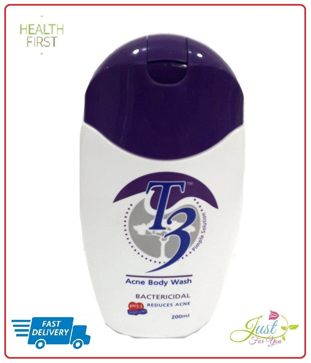 T3 ACNE BODY WASH 200ML exp date 7/2020