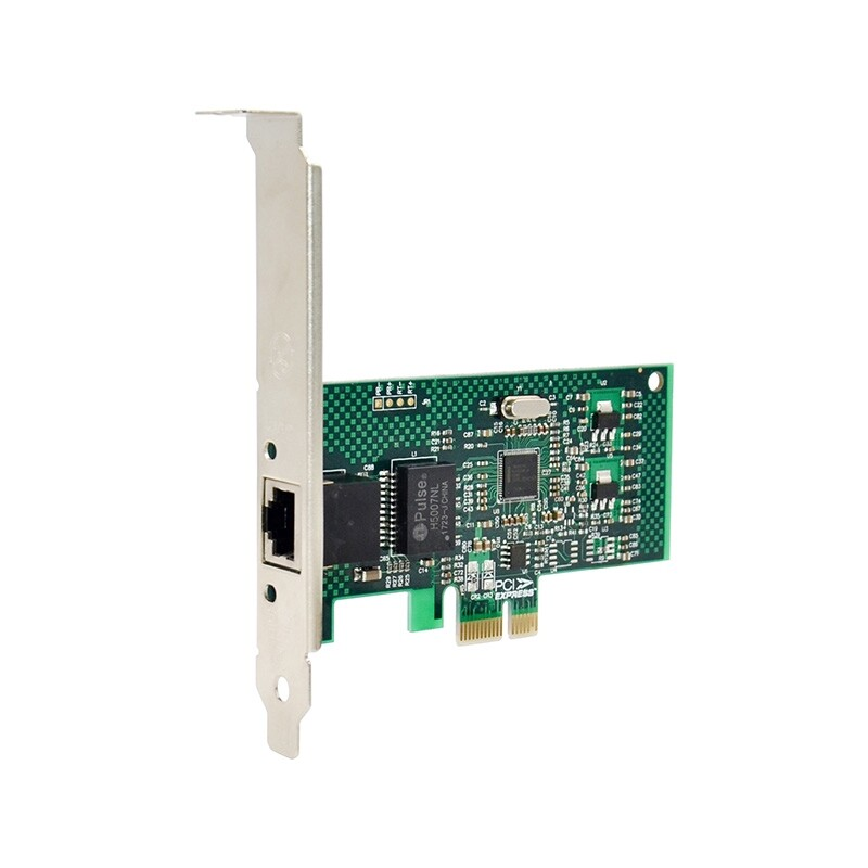1 PIECE(s) PCI-E X1 Gigabit Ethernet Network Card Adapter 1000Mbps Chip SET 82574L High Quality Ready