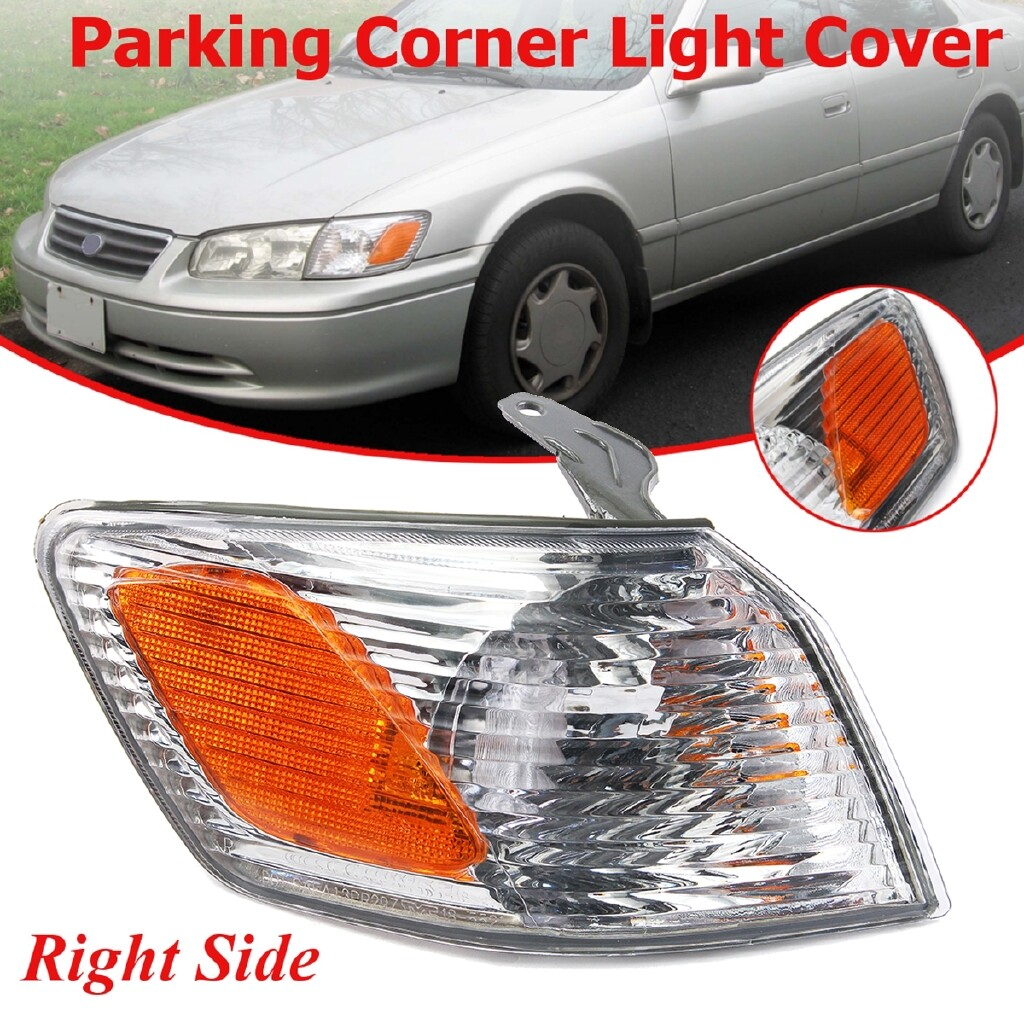 Car Lights - Front Right Parking Corner Light Turn Signal Cover For Toyota Camry 2000-2001 - Replacement Parts