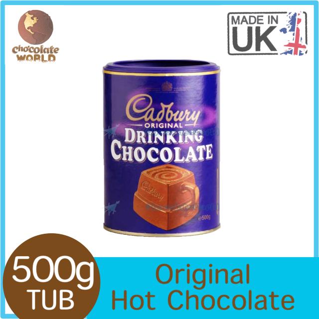 Cadbury Original Hot Chocolate 500g (Made in UK)