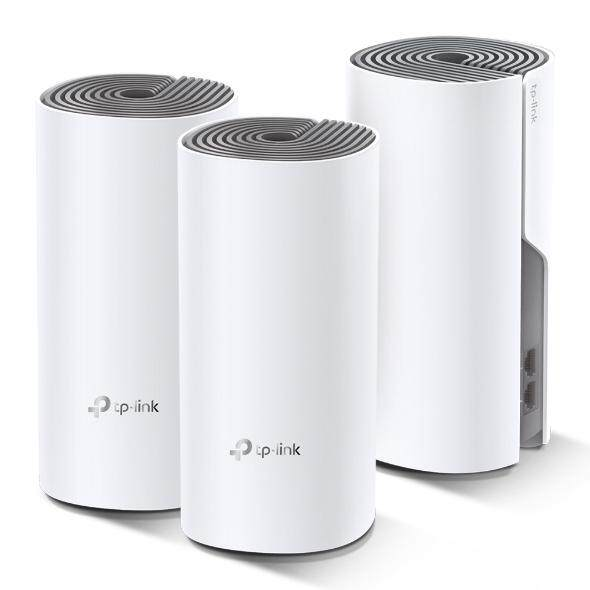 [Fast Shipment🚀] Tp-Link Deco E4 (3-Pack) AC1200 Whole Home Mesh WiFi System