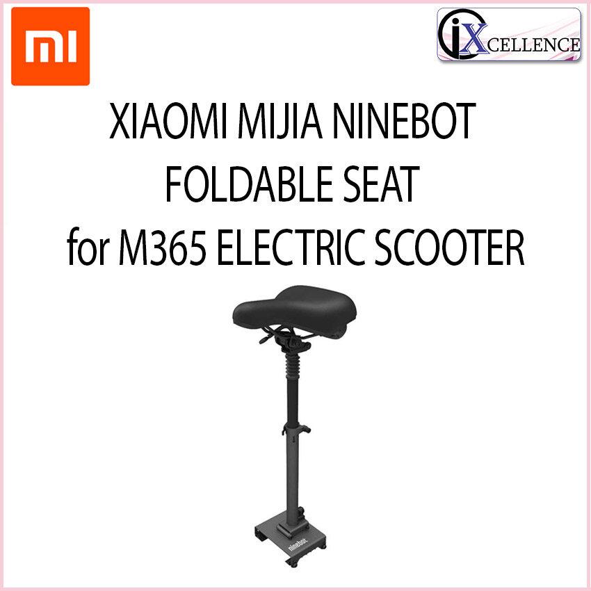 [IX] XIAOMI MIJIA NINEBOT FOLDABLE SEAT FOR M365 ELECTRIC SCOOTER (BLACK) PJ05MJZY