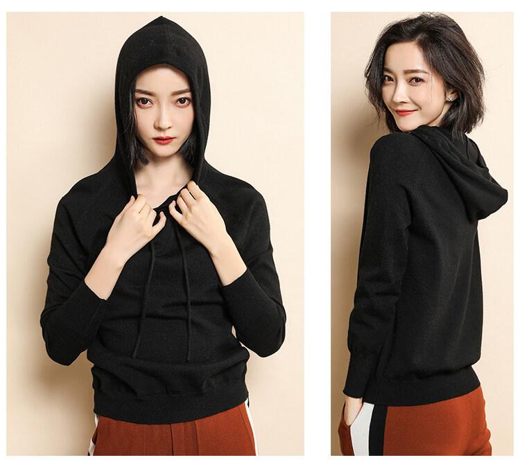(Pre Order ETA 15/5) JYS Fashion Korean Style Women Knit Hoodies Collection 540 - 2475