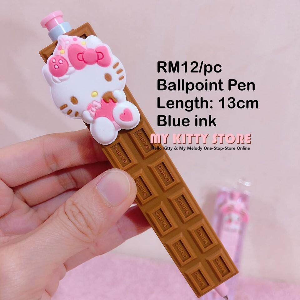 Hello Kitty My Melody Ballpoint Pen Chocolate Shape   Pen