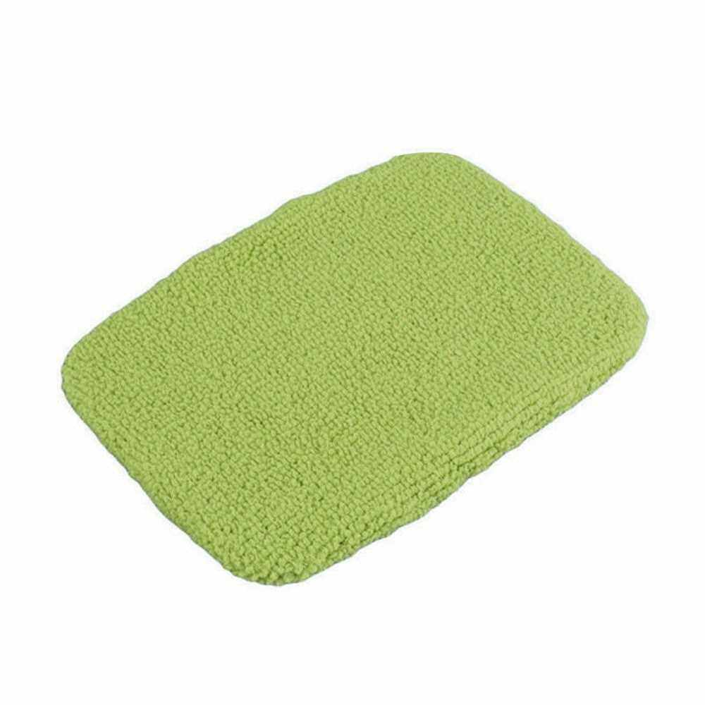 Windshield Clean Microfiber Cloth for Long Handle Car Cleaning Brush (Green) (Handle Brush is Not Included) (Green)
