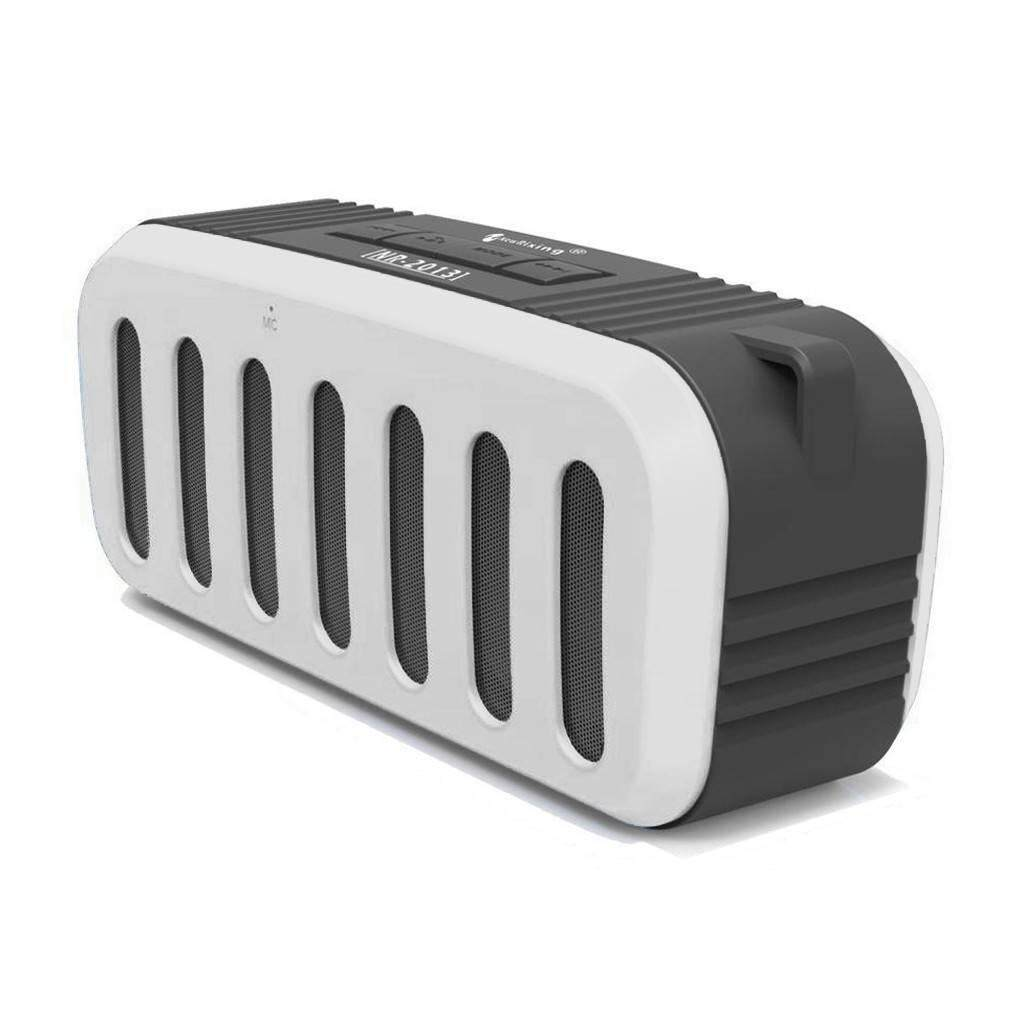 New Rixing Wireless Bluetooth Speaker - Nr-2013 WHITE