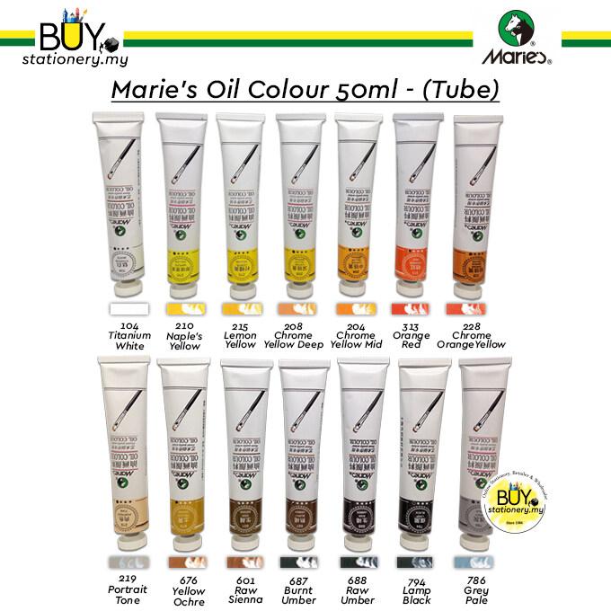 Marie's Oil Colour 50ml Part B - (TUBE)