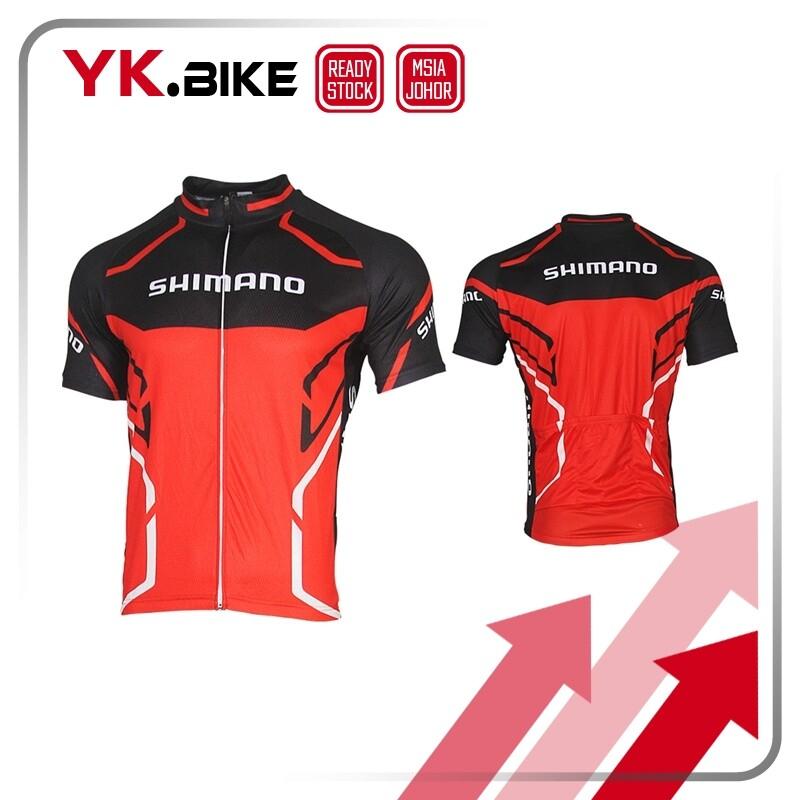 MASSTEK [READY STOCK] Cycling Jersey Short Sleeve Cycling Clothing Bike Wear MTB Jersey Quick Dry Downhill Bike APL126
