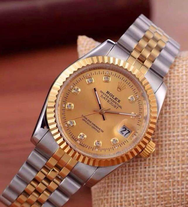 36mm Busines Rolex_Datejust_Fully Automatic Women Watch Unique Good Looking Design New Arrival Date Display Free Genuine Gift Box