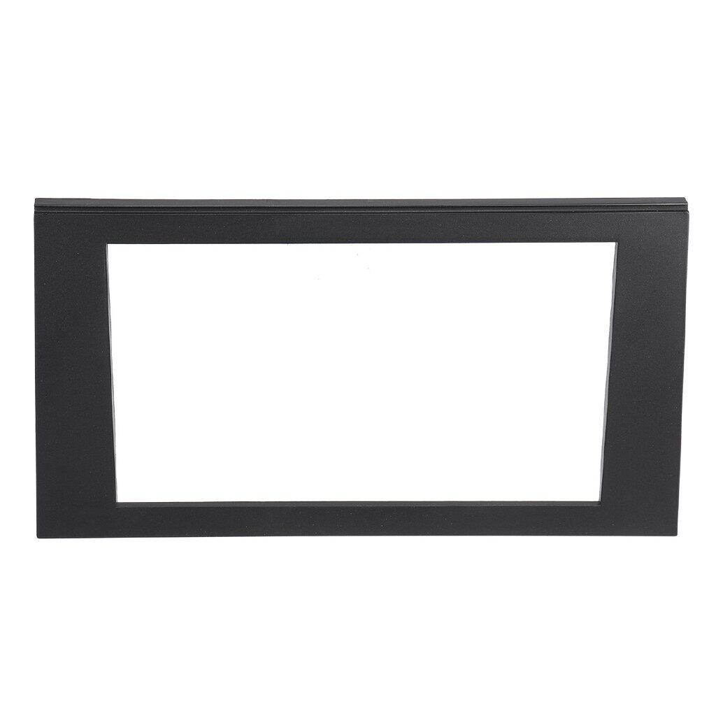 Car Accessories - Car Stereo 2 DIN Facia Panel For 02-08 Audi A4 B7/02-06 Audi A4 B6/SEAT Exeo 09+ - Automotive