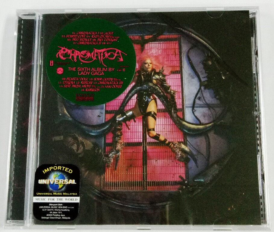 Lady Gaga - Chromatica Standard Version EU Pressed Imported CD